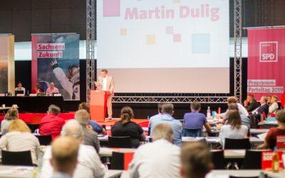 SPD Sachsen beschließt Regierungsprogramm